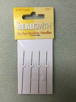 Beadsmith Wide Eye Needles