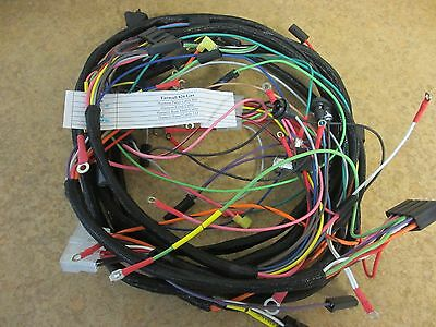 NEW FARMALL 826 Gas Tractor Wiring Harnesses - Main, Rear ... on