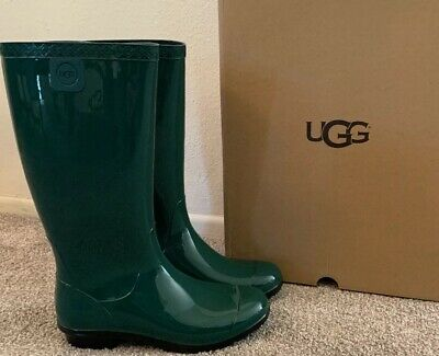 57f8f4a2a99 UGG SHAYE RAIN Boots Woman Pine 1012350 100% Authentic New Sz 8