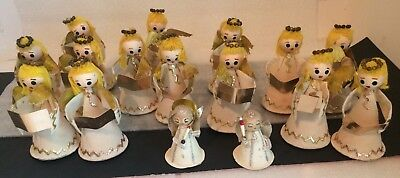 16 - VINTAGE 1950s ANGEL CHOIR RARE AUTHENTIC Made in JAPAN Figurine Ornaments