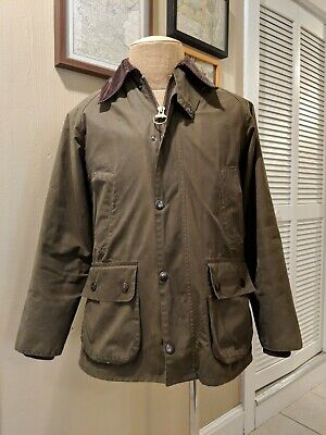 Barbour | Classic Bedale Sylkoil Wax Jacket (W/liner) | Olive | Men'S Small/34R