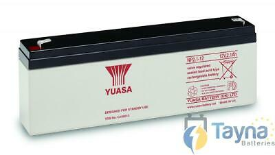 Yuasa NP2.1-12 Valve Regulated Lead Acid Batterie 12V 2.1Ah