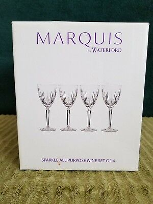 Marquis by Waterford Sparkle All Purpose Wine Glasses set of 4