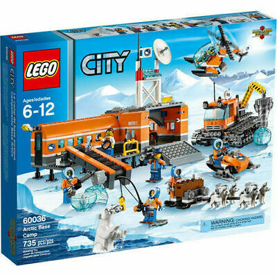 LEGO City 60036 Arctic Base Camp NISB *RETIRED*