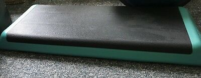 Aerobic Step Platform The Original Step Teal and Black Great Condition