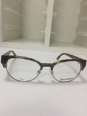 2472dd2892 New Authentic Juicy Couture JU 172 YL3 Brown Crystal Eyeglasses 50-18-135 W