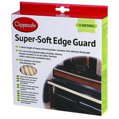 Clippasafe Super-Soft Edge Guard in Cream Babyproofing Safety