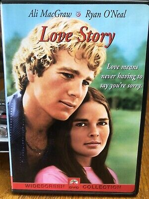 Love Story (DVD,2001,from 1970) Mint in WS,Ali MacGraw,Ryan O'Neal,Same Day Ship