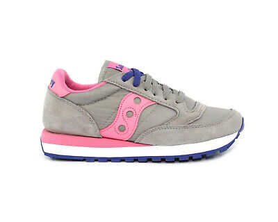 save off f16a8 38f5f Chaussures Saucony Jazz Original Femme S1044 463 Gris Rose Neuf Baskets