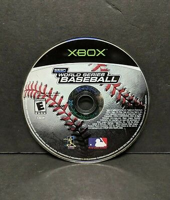 World Series Baseball (Microsoft Xbox, 2002) Disc Only