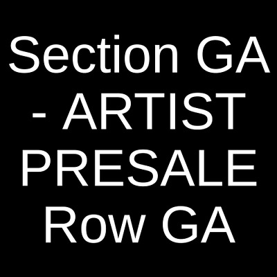 4 Tickets San Holo 4/5/19 The Observatory - North Park San Diego, CA