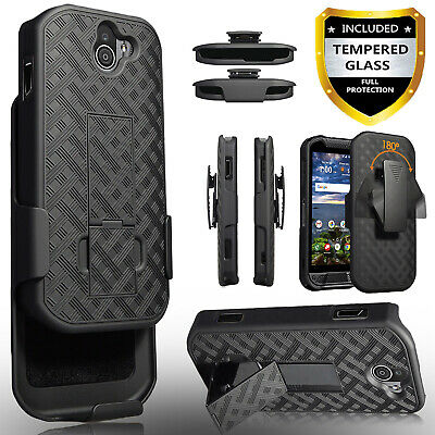 finest selection 46a2e 234a9 FOR KYOCERA DURAFORCE Pro 2 Phone Case, Holster Belt Clip Cover+ ...
