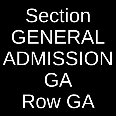 4 Tickets Bad Suns 4/3/19 The Observatory - North Park San Diego, CA
