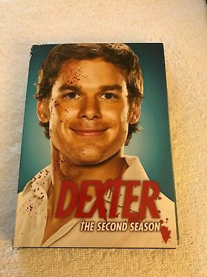 "Dexter ""the second  season  ""   DVD    ""free-shipping""   112"