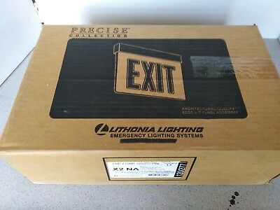 Lithonia LRP W 2 GMR 120/277 Precise Collection Exit Sign