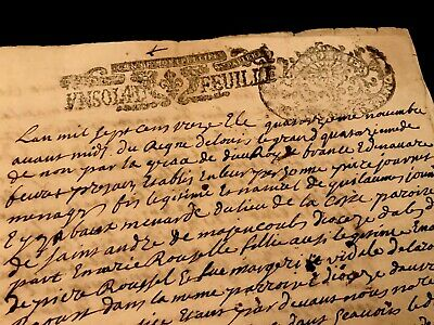 Marriage Contract 1713