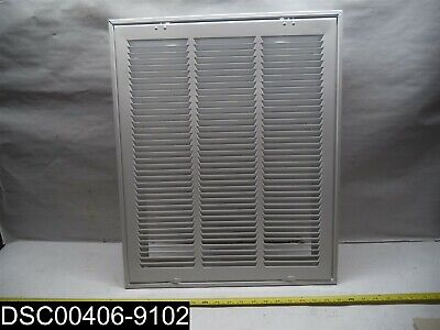 "190Rf Truaire White Return Air Filter Grille 16"" X 20"" Removable Face"
