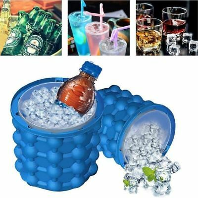 Magic ICE CUBE Maker Bucket Silicone Genie Revolutionary Kitchen Tool Space 1pc
