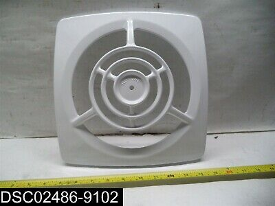 "Qty = 8: S17702206 Broan Nutone Fan Grille Assembly-White 11"" X 11"""