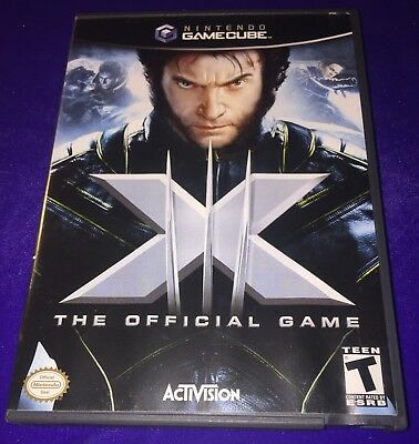 (G204) Collectible Vintage Nintendo Game Cube Ngc X-Men 3 X3 The Official Game!