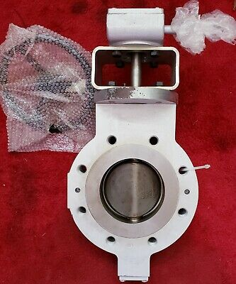 "QUADAX DN125  5"" Lug/Flange Style GEAR OPERATED Butterfly Valve NEW"