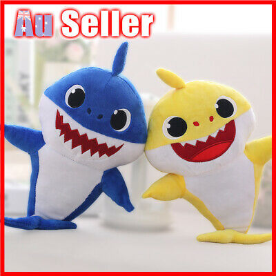 2019 Doll Shark Toy Baby English Song Plush Singing Toys Music Gift