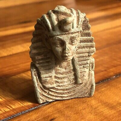 Ancient Egyptian Faience Amulet Talisman 1500BC Mummy Artifact Ushabti Tourist