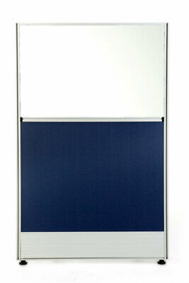 T8 Partition Blue with Glass