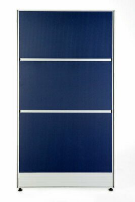 T8 Partition Blue with Pinboard