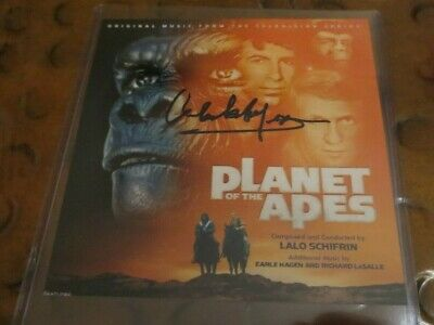 Lalo Schifrin composer signed autographed photo Planet of the Apes TV show music