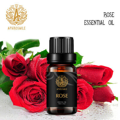 Rose Essential Oil 100% Pure UNCUT Aromatherapy Therapeutic Natural Rose 10ml US