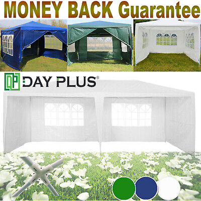 Gazebos 4-Sides Gazeebo Party Tent Events Shelters Waterproof Marquee Gazibo New