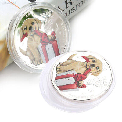 0994 Silver DOGE Collectible Challenge Coin Ornaments Home Year Of Dog