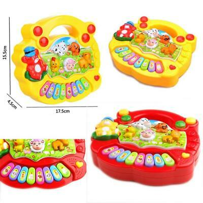 Baby Kids Musical Educational Animal Farm Piano Developmental Music Toy Gift  GA
