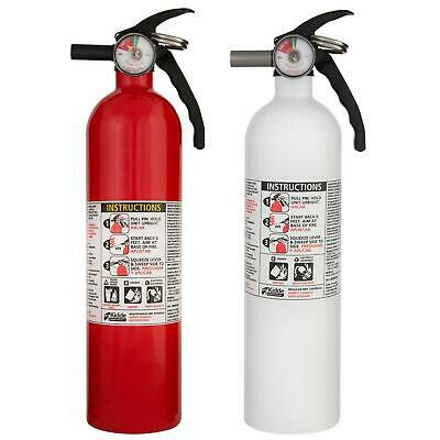 Kidde 1-A:10-B:C Recreation and 10 BC Kitchen Fire Extinguisher Home Safety 2Pc