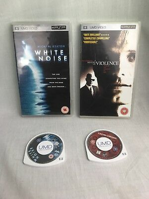 White Noise & A History Of Violence Sony Psp Umd Films
