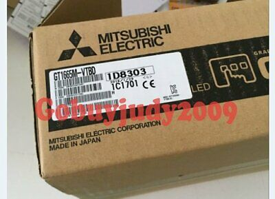 New in box Mitsubishi HMI GT1665M-VTBD One year warranty