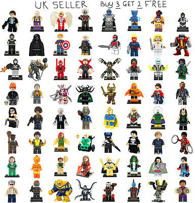 Marvel Minifigures The Avengers Deadpool Guardians of the Galaxy Mini Figure