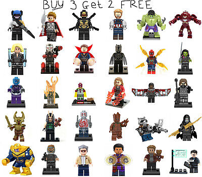 Avengers Infinity War Endgame Minifigure Marvel The Avengers Ironman Mini Figure