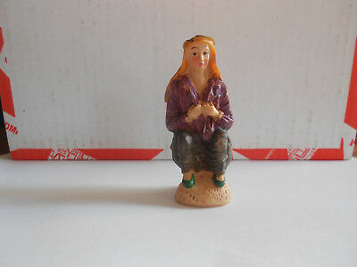 Caganer Catalan Traditional Pooping Figure Spain Christmas Nativity