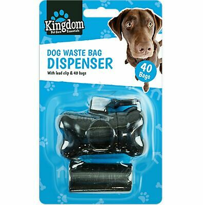 🔥 Dog Poo Waste Bag Rolls Holder Dispenser Lead Attachment Key Clip Poop Scoop