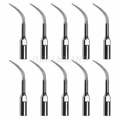 10X Dental Ultrasonic Piezo Scaler Scaling Tip GD4 Fit DTE SATELEC Handpiece THK