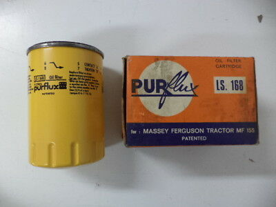 Purflux Ls 168 Nos Oil Filter Original Replacement Mf 155,158,mkii,morgan Plus 8