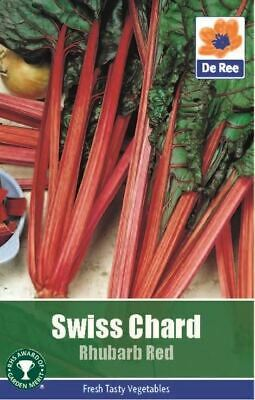 Swiss Chard Rhubarb Red Vegetable Seeds