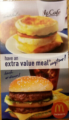 4 - McDonald's Meal Combo - Great Savings