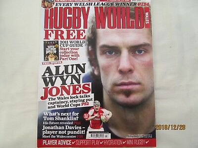 Rugby World Magazine (Welsh Edition) July 2011.