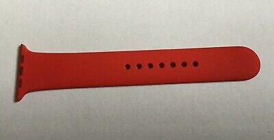 Genuine Apple Watch 42mm M/L Replacement Part Half Strap RED (Product)