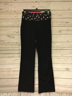 2e678292d1804 New Juniors Womens SO Brand Black Bootcut Pants Yoga Workout ~ Size Small