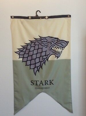 "Game Of Thrones STARK Large Banner 29"" X 51"" By Cahaun"