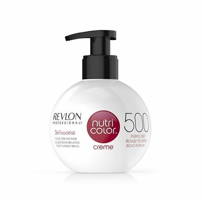 Revlon Nutri Color Creme Ball - Purple Red 500 270ml